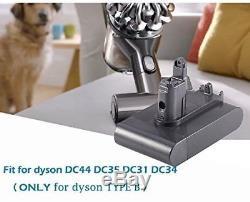 22.2V 3000mAh Battery for Dyson TYPE B DC31 DC34 DC35 Animal DC44 917083 17083