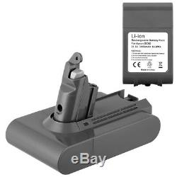 3000mAh 21.6V Replacement Battery For Dyson Hoover V6 DC58 DC59 DC61 DC62 SV03