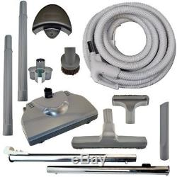 30' Electric PowerHead Pigtail Hose Kit for Eureka Rugmaster Central Vac