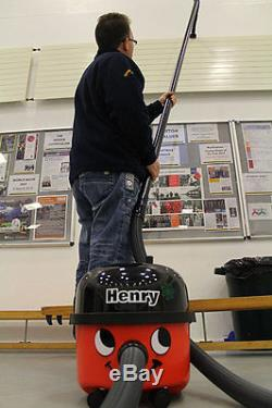 4.5m High Reach Carbon Fibre Pole Set to fit Henry Hetty Numatic vacuum cleaner