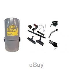 AirFlow 1400w ou 180 M2 max set / 8m Aspirateur centralisé