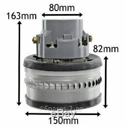 Ametek 2 Stage Bypass Hoover Motor For NUMATIC HENRY HETTY Vacuum 1000W 240V