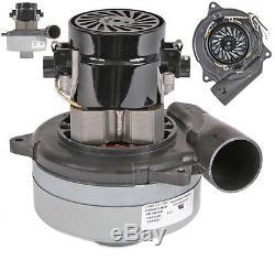 Ametek Lamb 2 Stage Tangential Hoover Motor for PROCHEM Vacuum 5.7 240V A3327F