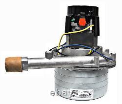 Ametek Lamb 5.7 Inch 6 Stage 120 Volt B/B Tangential Bypass Motor 122097-00