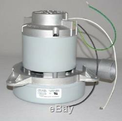 Ametek Vacuum Motor p/n 119918-00 230 volts, 2-stage, ball/ball, tangential