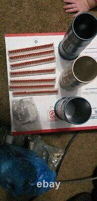 Assorted Hoover Vacuum Convertilbe Parts, Fans, Outer Bag, Handle Bell