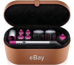 BRAND NEW DYSON AIRWRAP Complete Hair Styler Nickel & Fuchsia