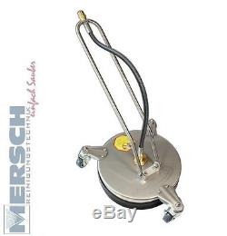 CentroMaxx Terrassenreiniger Round Cleaner Kärcher Kränzle für Hochdruckreiniger