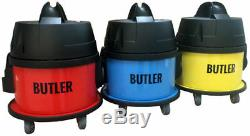 Cleanstar Yellow Butler Commercial Vacuum Cleaner Made In Europe + Bonus Bags