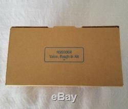 Combo Pack Hide A Hose HS5000W White Valve Trim Kit & HS5000R Rough-In Kit