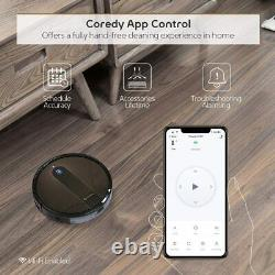 Coredy R750 Robot Vacuum Cleaner Compatible with Alexa Mopping System Boost
