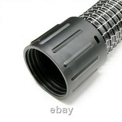 Cyclonic Side Entry Inlet 51mm & 5M Wire Reinforced Gutter Vacuum Cleaner Hose