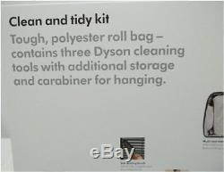 DYSON Cinetic 3 Tools + STORAGE ROLL BAG KIT 924744-01 New