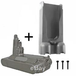 DYSON Genuine V10 SV12 Power Pack Battery Unit + Wall Mount Charge Dock