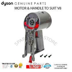 DYSON V8 MOTOR & HANDLE w SCREWS MAIN BODY GENUINE DYSON PART BRAND NEW