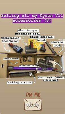 Dyson V11 Torque Drive Accessories