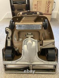 Fantastic Vintage Hoover Senior 612 Vacuum Cleaner + Attachments / Instructions