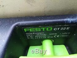 Festo Festool CT22E Nass-trocken Gewerbe Staubsauger systeiner hat eine riss
