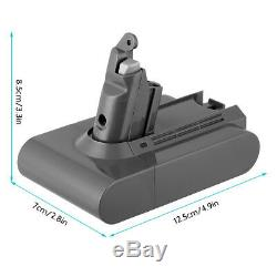 For DYSON V6 ANIMAL 21.6V 3000mAh Hoover Battery DC58 DC59 DC61 DC62 SV03 V6