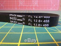 GENUINE BELT FL 12.8x455 FOR VAX W86-DP-R DUAL POWER REACH CARPET CLEANER