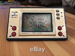 Game & Watch Nintendo Egg Wide Screen, Gakken, bandai, Casio, sega, electronic Game