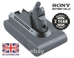 Genuine Dyson SV03 SV05 ErP SV06, V6 Handheld Vacuum Cleaner Battery SONY CELLS