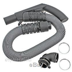 Genuine MIELE Vacuum Cleaner Hoover Hose Pipe Silver Grey S7210 S7260 S7280