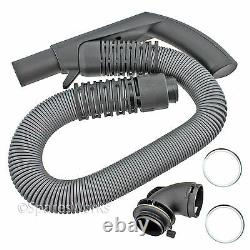 Genuine MIELE Vacuum Cleaner Hoover Hose Pipe Silver Grey S7510 S7580 Spare Part