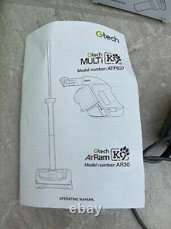 Gtech AirRam K9 Mk2 AR30 Upright + Multi K9 ATF37 Handheld Cordless Latest Model