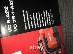 Hilti Dry Portable Vacuum Cordless 4.0 Li-ion 1 Gal. HEPA Dry Filter Charger Bat