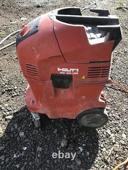 Hilti VC 40 UM Industrial Vacuum 110v Dust Extractor