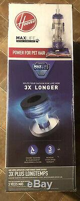 Hoover Upright Total Home Pet Bagless Vacuum Allergen Block Multi-Floor Max Life