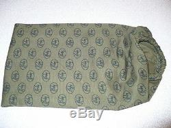 Kirby 1967 Vintage Model D80 Green Cloth Bag WithZipper Pocket 190067