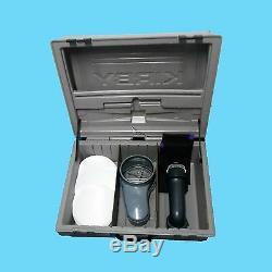 Kirby Demo Koffer mit Schauglas + 100 Filter und Adapter + 2 schwarze Tücher