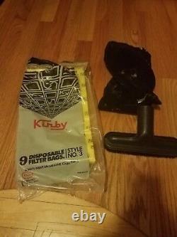 Kirby Heritage II vacuum cleaner with accessories in original box
