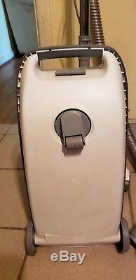LQQK Vintage Kenmore Model 120 Canister Vacuum Cleaner with Attachments