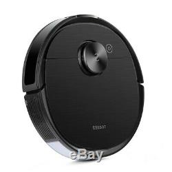 Latest 100$off Ecovacs Deebot T8 AIVI Smart Vacuum and Mop Robot, Black, New