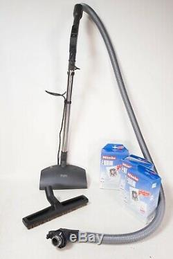 Miele S538 Canister Vacuum With Power Head + Extras Complete Made in Germany