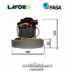 Motore Per Aspirapolvere Aspiracenere Watt 800 Volt 220 Lavor Wash Fasa