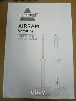 NEW Bissell AirRam Cordless Vacuum Model 2144 Series Color Red