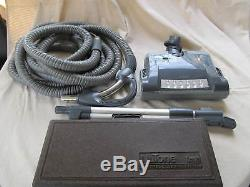 NUTONE Central Vacuum Deluxe Electric Powerhead 35 Hose and Cleaning Tools Kit