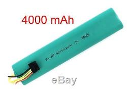 NiMh battery, 4000 mAh, 12V, for Neato Botvac 70, 70e, 75, 80, 85, etc
