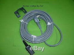 Nilfisk Mains Flex Lead Cable for GM80 Model with Bracket Original Part (K27)
