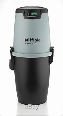 Nilfisk Supreme LCD Zentralstaubsauger / Staubsaugeranlage / Einbaustaubsauger