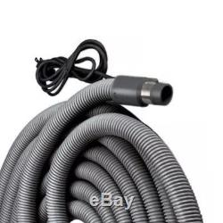 NuTone CH515 Current Carrying Crush Proof Universal Central Vacuum Hose, 30 feet