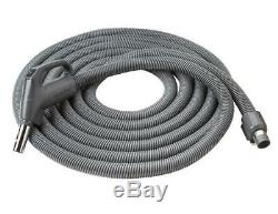 NuTone Central Vacuum Direct-Connect Crushproof Hose, 30 Ft. (CH615)