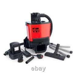 Numatic RSB140 Battery Powered Back Pack Vacuum 2 x battery Cash on collection