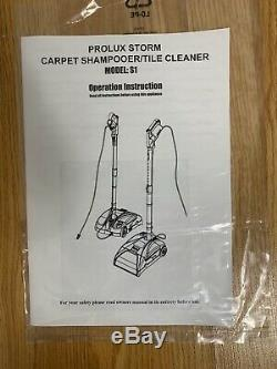 Prolux Storm Carpet Shampooer/Tile Cleaner