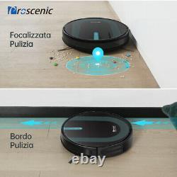 Proscenic 850P Alexa Aspirapolvere Robot lavapavimenti 3KPa Auto Mocio Spazzare