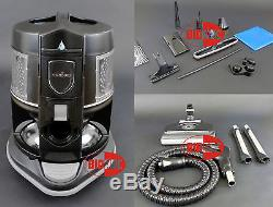 Rainbow vacuum E2 black E-2 Type12 w NEW Aqua-Mate Min-Jet Rain-Jet Rainbow-Mate